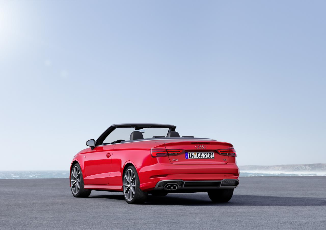 2017 audi a3 cabriolet launched in india at a start price. Black Bedroom Furniture Sets. Home Design Ideas