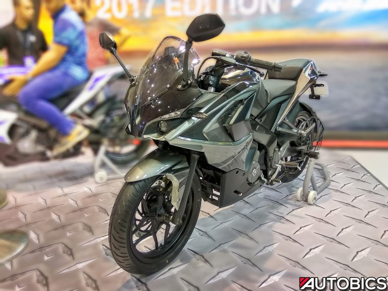 2017 bajaj pulsar rs200 launched in india prices start at rs 1 21 881 autobics. Black Bedroom Furniture Sets. Home Design Ideas