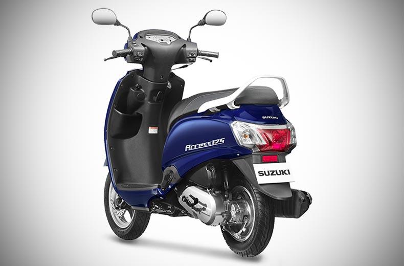 Suzuki Access  Review Team Bhp