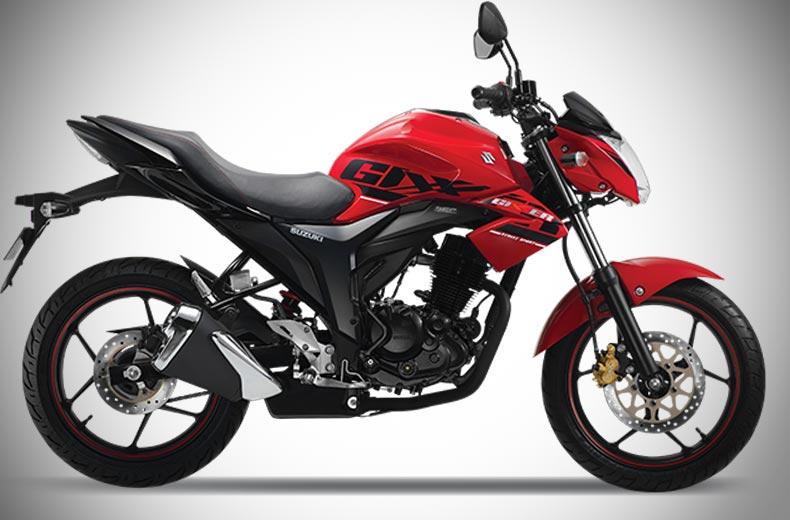Buy Red Suzuki Bike