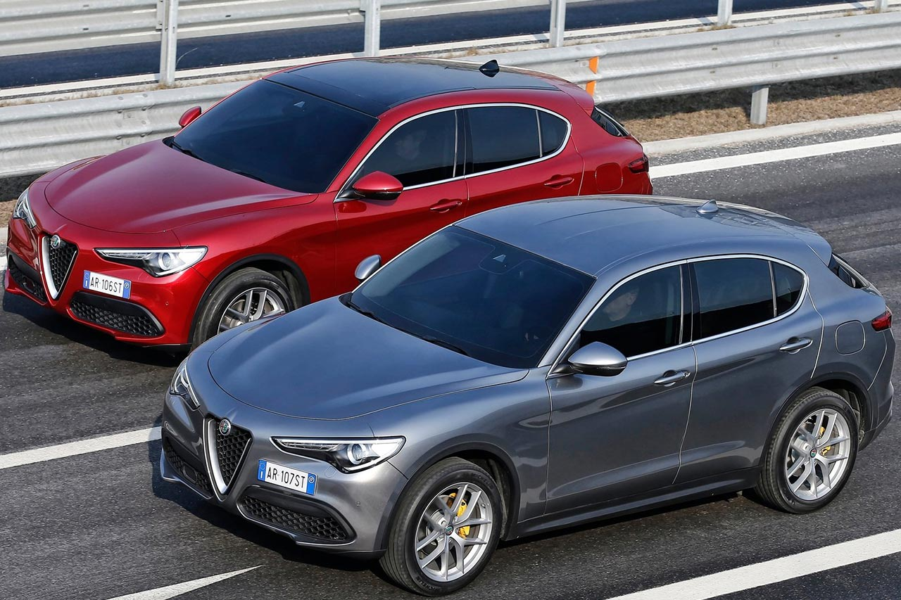 alfa romeo stelvio is the brand 39 s first ever suv autobics. Black Bedroom Furniture Sets. Home Design Ideas