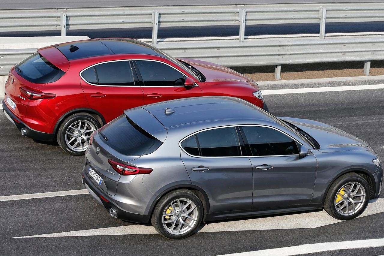 Alfa Romeo Stelvio 2018 Rear Motion Autobics
