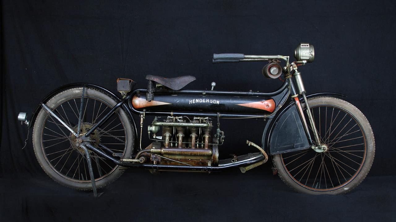 Henderson Four 1912 motorcycle