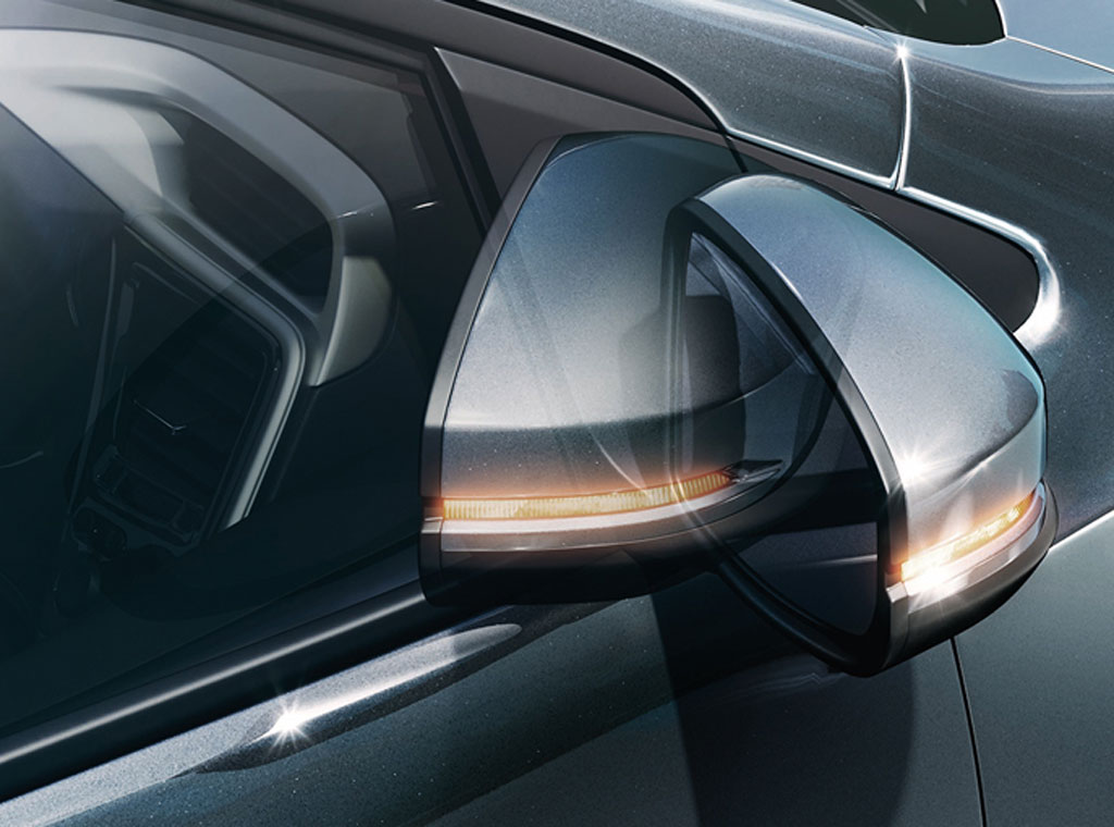 honda city 2017 auto folding door mirror