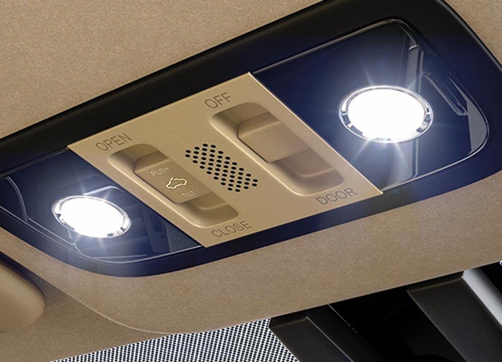Honda City 2017 LED Map lights