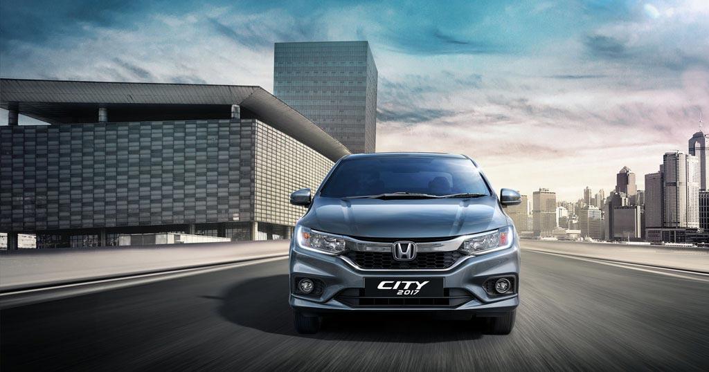 Honda City 2017 front