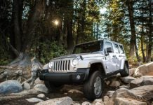 Jeep Wrangler Unlimited Off road
