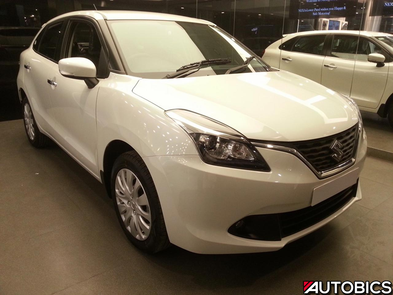 Maruti Suzuki Baleno at NEXA showroom
