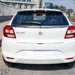 Maruti Suzuki Baleno 2016 white rear
