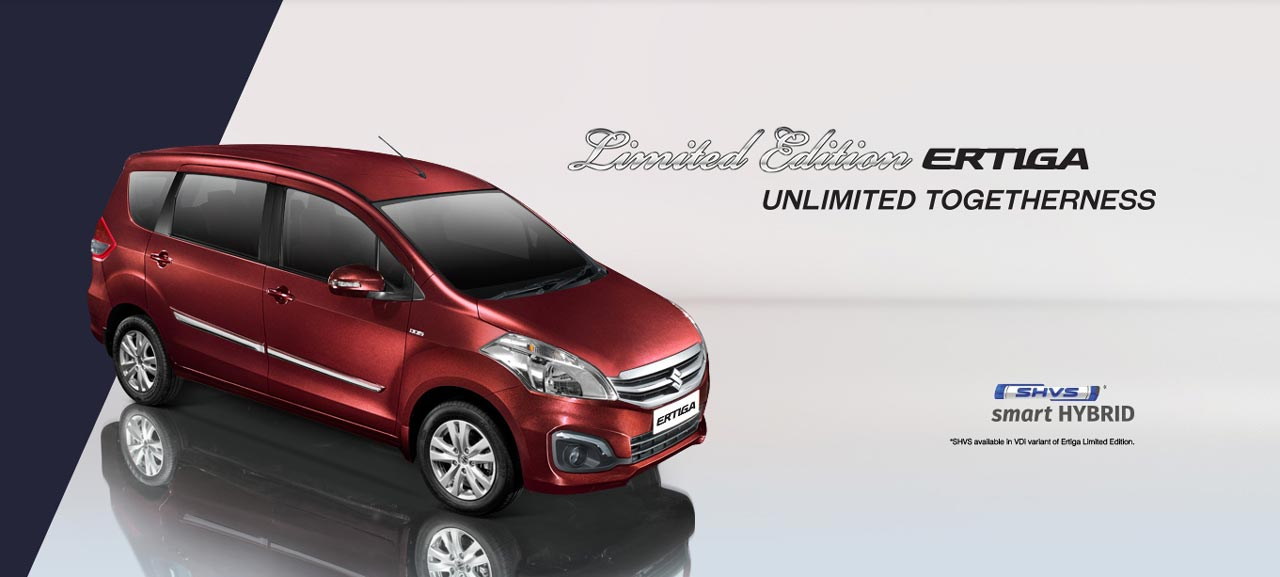 Maruti Suzuki Ertiga Limited Edition Launched In India ...