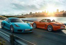 Porsche 718 Cayman and 718 Boxster 2017