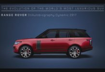 Range Rover Evolution Animation