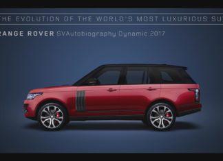 Range Rover Evolution Animation