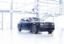 Rolls-Royce Phantom VII Last production model