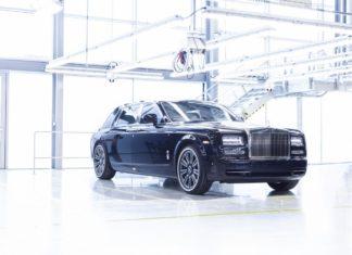Rolls-Royce Phantom VII Last production model