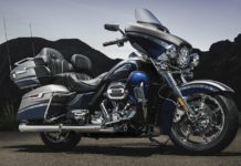 2017 Harley-Davidson CVO Limited Palladium Silver & Phantom Blue With Wicked Sapphire
