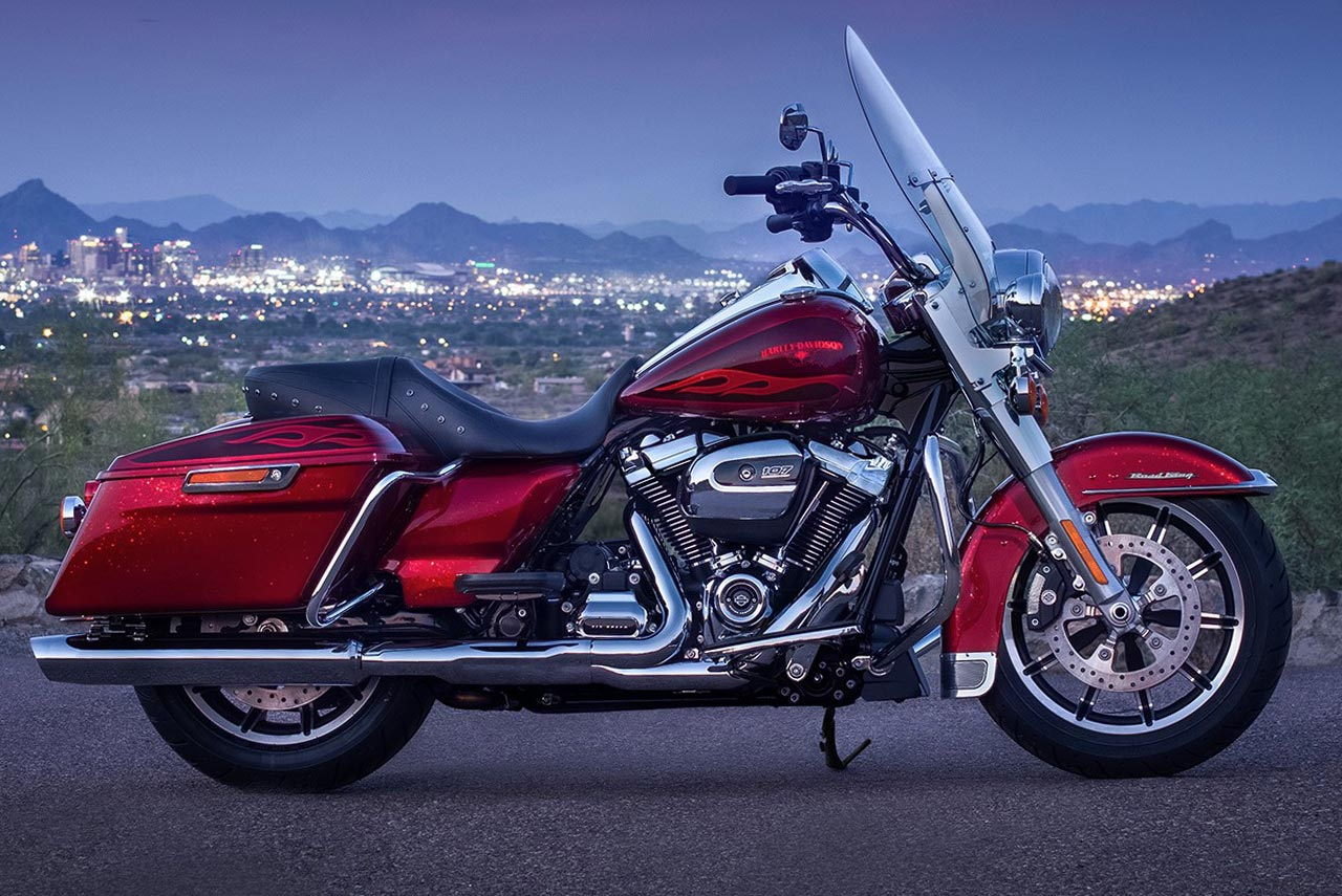 how to ride a harley davidson road king