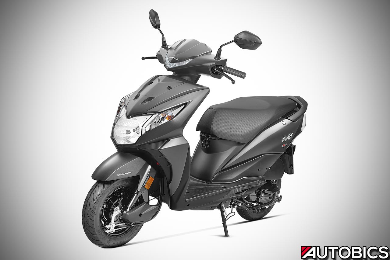 2017 Honda Dio Matte Axis Grey Metallic Autobics