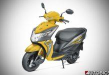 2017 Honda Dio Pearl Sports Yellow