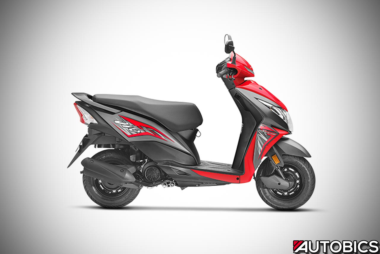 2017 honda dio launched in india updated to  ply with
