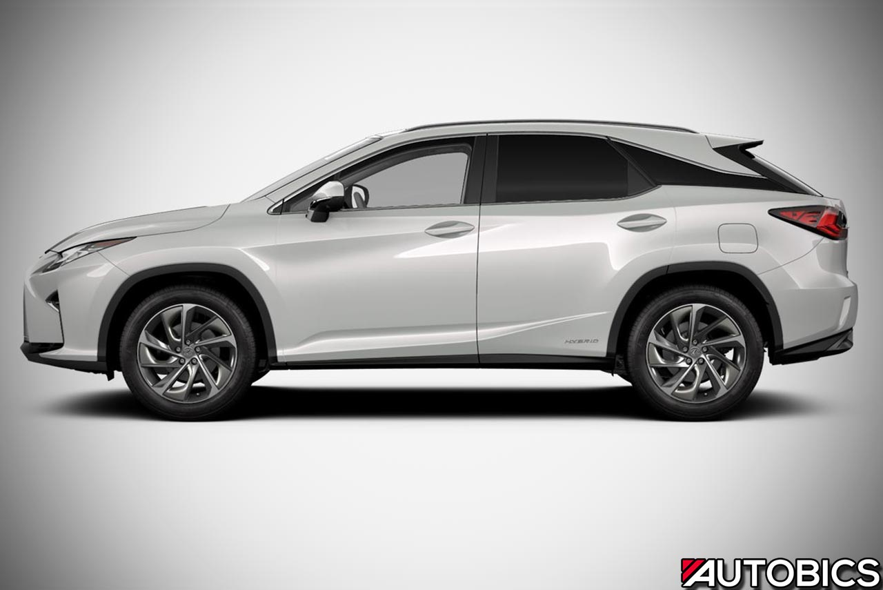 2017 Lexus Rx 450h Left Side Autobics