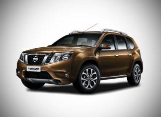 2017 Nissan Terrano Sandstone Brown