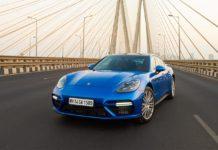 2017 Porsche Panamera Turbo Bandra Worli Sealink Mumbai