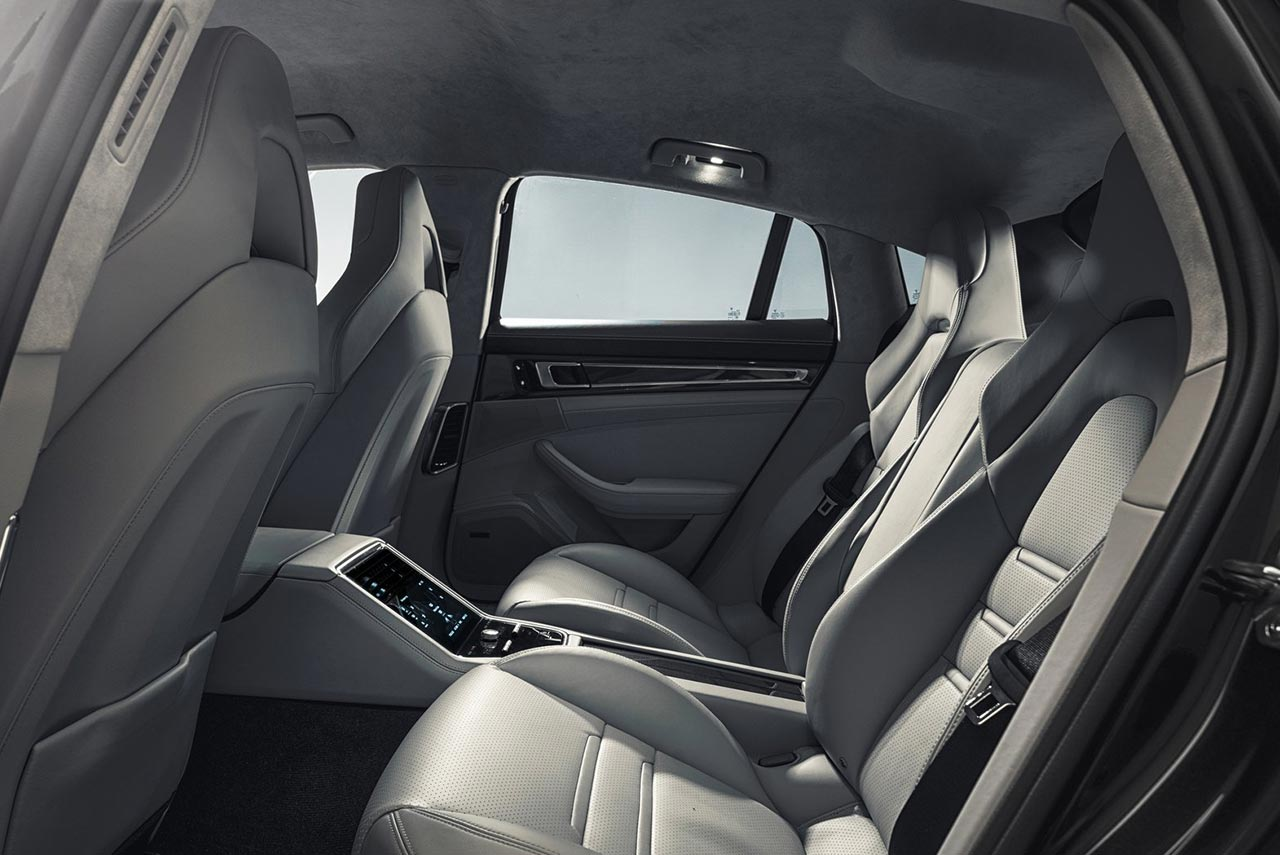 2017 Porsche Panamera Turbo Interior Rear Seats Autobics