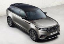 2017 Range Rover Velar front quarter