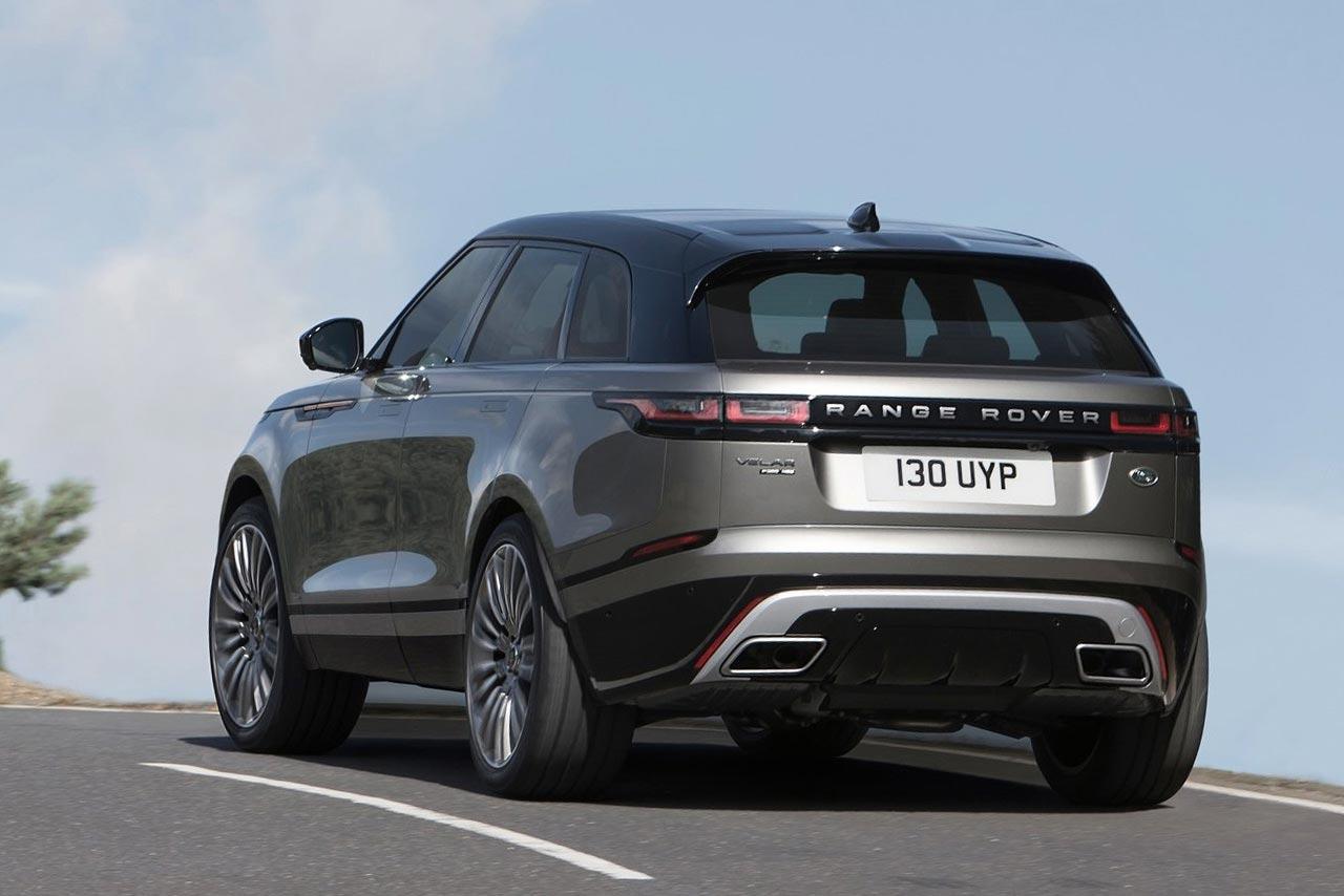 2017 Jeep Concept Vehicles >> 2017 Range Rover Velar rear quarter (2) | AUTOBICS