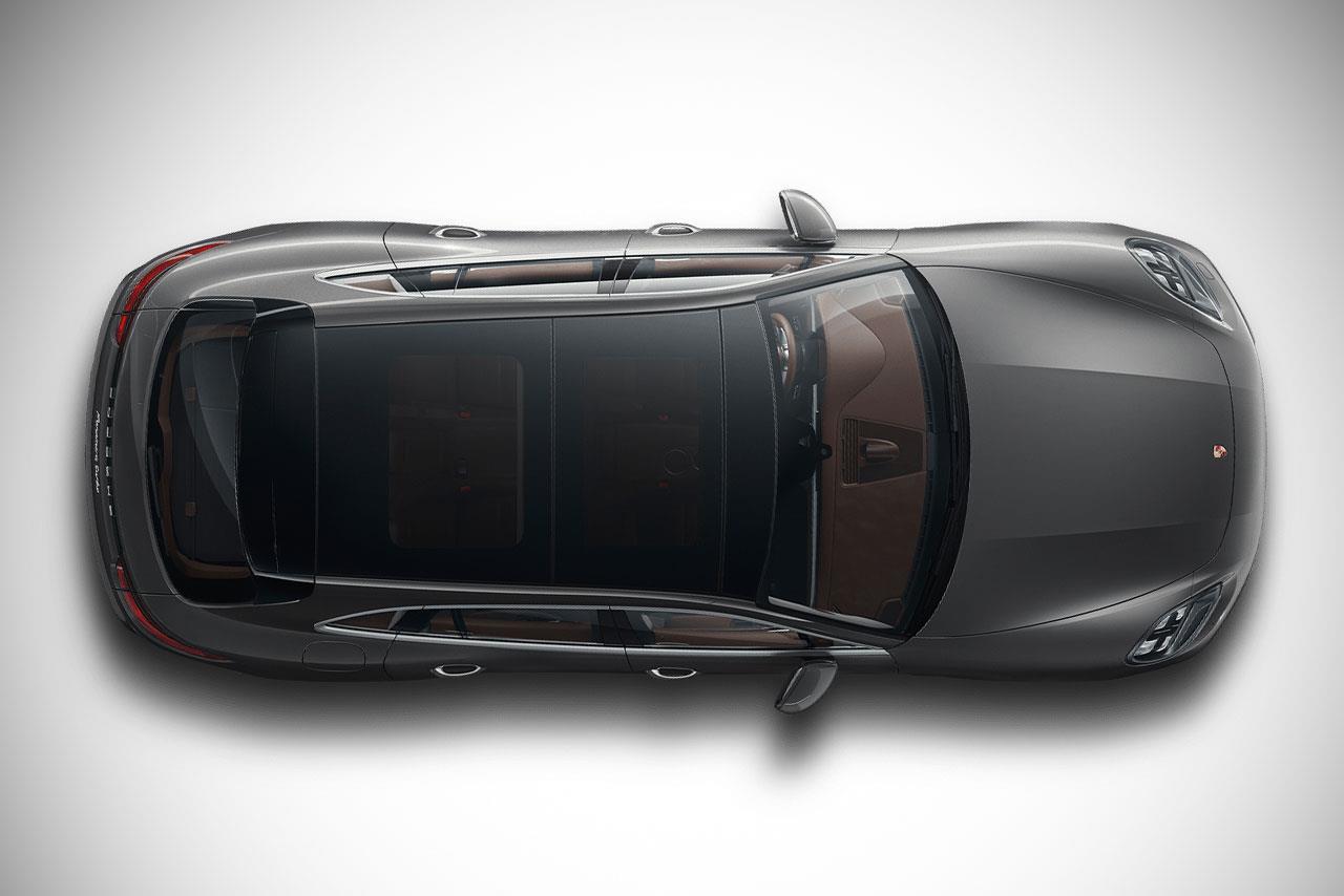 2018 Porsche Panamera Sport Turismo Top View Autobics