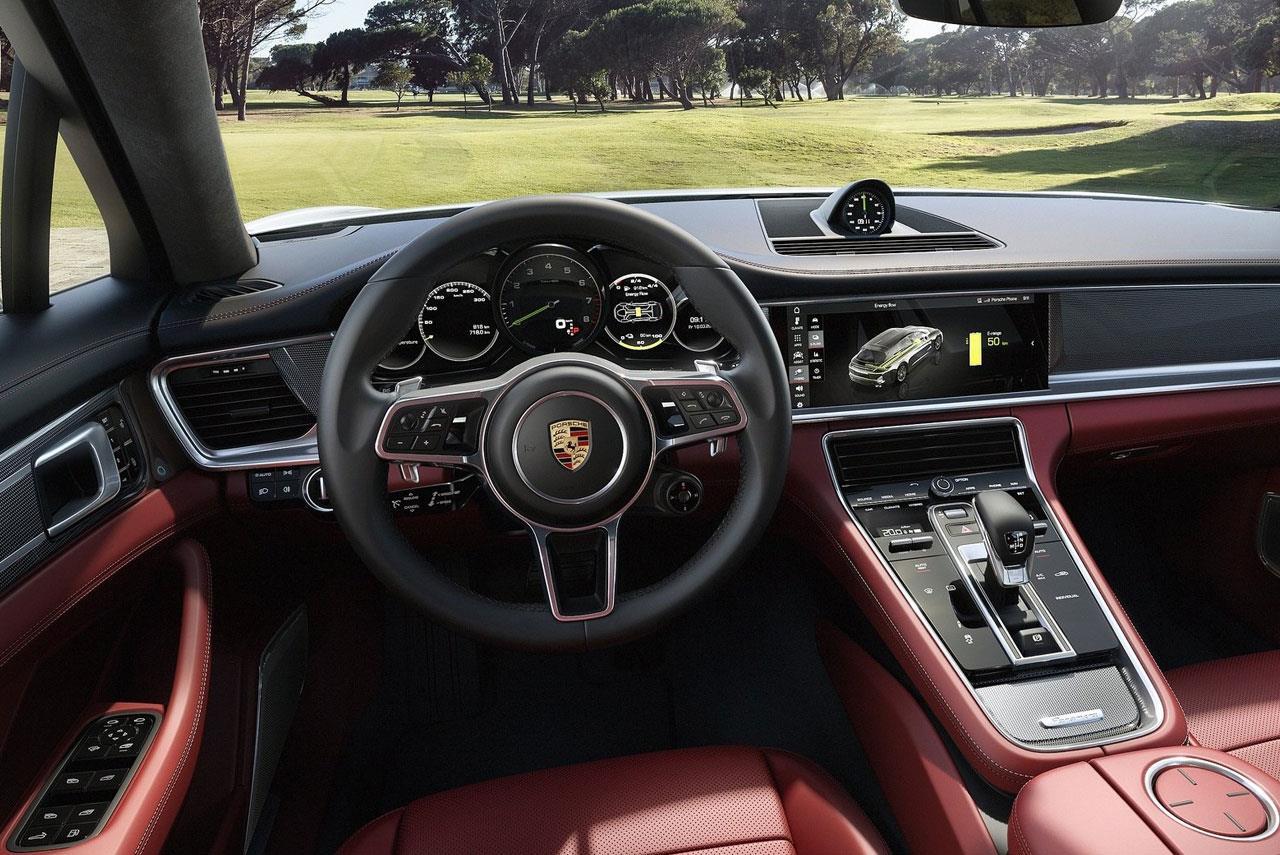 2018 Porsche Panamera Sport Turismo Interior Autobics