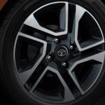 "Tata Tigor Diamond cut 15"" dual tone alloy wheels"