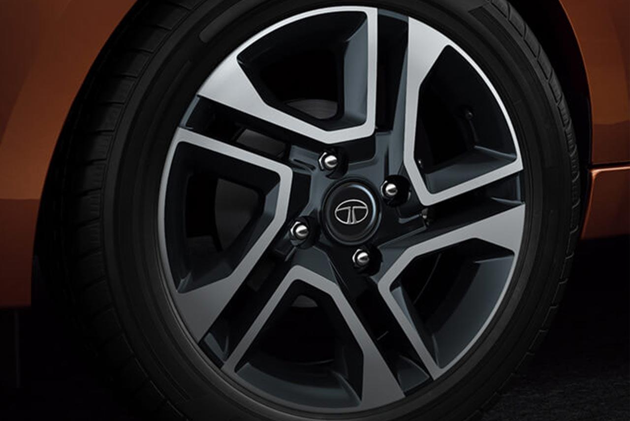 tata tigor alloy wheel autobics