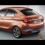 Tata Tigor Park assist with rear parking camera and display