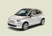 2017 Fiat 500-60TH front quarter