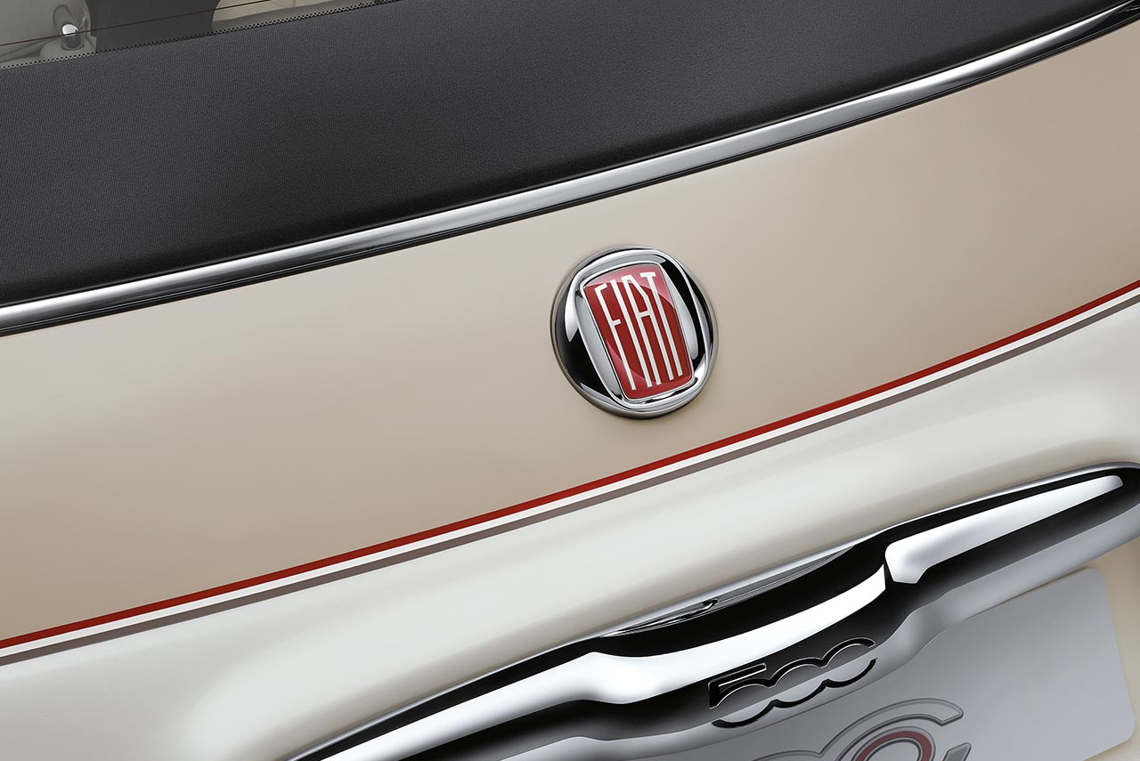 2017 Fiat 500 60th Vintage Fiat Logo Autobics