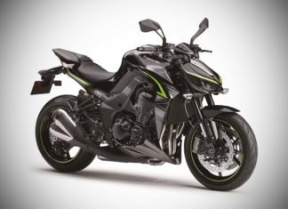 2017 Kawasaki Z1000 R Edition Metallic Spark Black with Metallic Graphite Gray