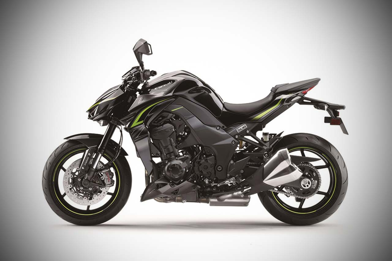 2017 Kawasaki Z1000 R Edition Metallic Spark Black With Graphite Gray Left
