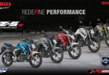 2017 Yamaha FZS-FI Colours