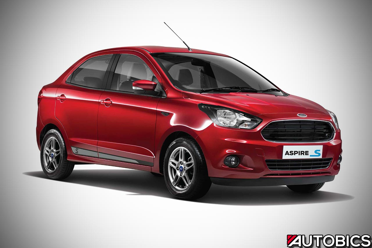 Ford Figo Sports And Ford Aspire Sports Launched In India
