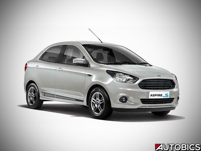 Ford Figo Sports and Ford Aspire Sports launched in India with 'Sports Suspension' | AUTOBICS