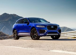 2017 jaguar f-pace s front right quarter