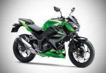 2017 kawasaki z250 india green