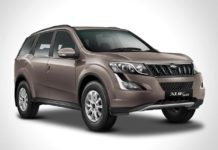 2017 mahindra xuv500 lake side brown front right
