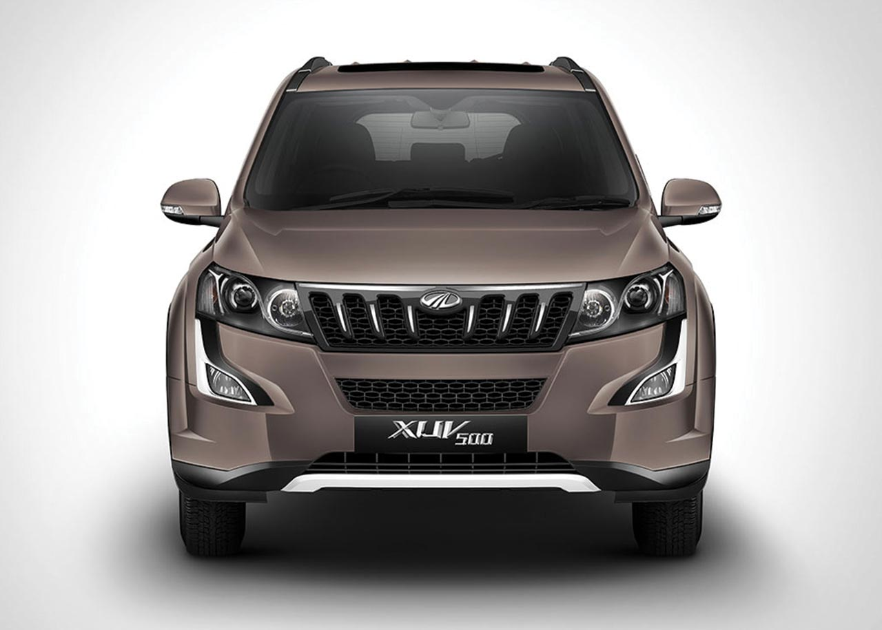2017 Mahindra Xuv500 Lake Side Brown Front Autobics