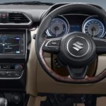 2017 maruti suzuki dzire steering wheel