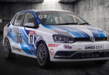 2017 volkswagen ameo cup race car