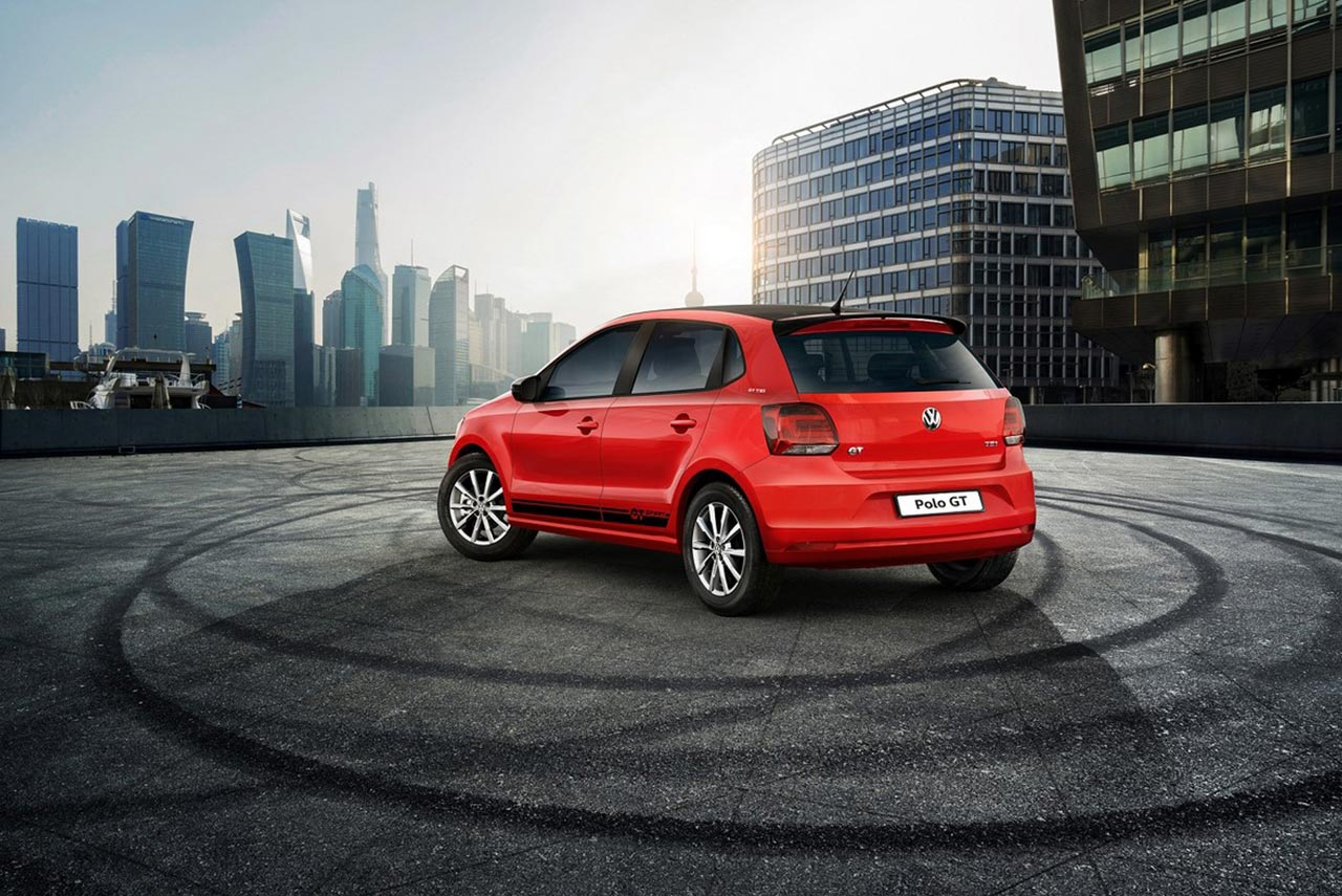 limited edition volkswagen polo gt sport launched in india autobics. Black Bedroom Furniture Sets. Home Design Ideas