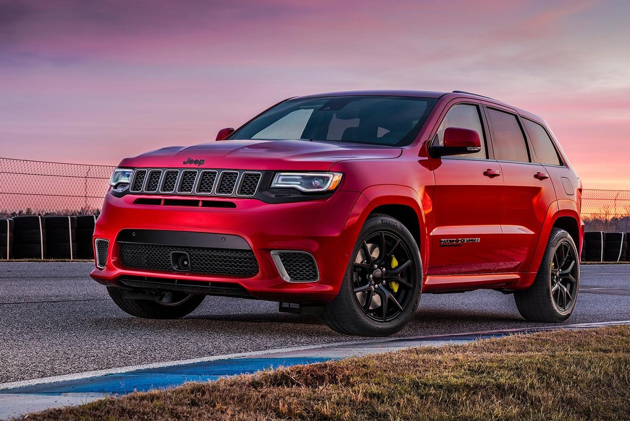 2018 Jeep Grand Cherokee Trackhawk Is The Most Powerful